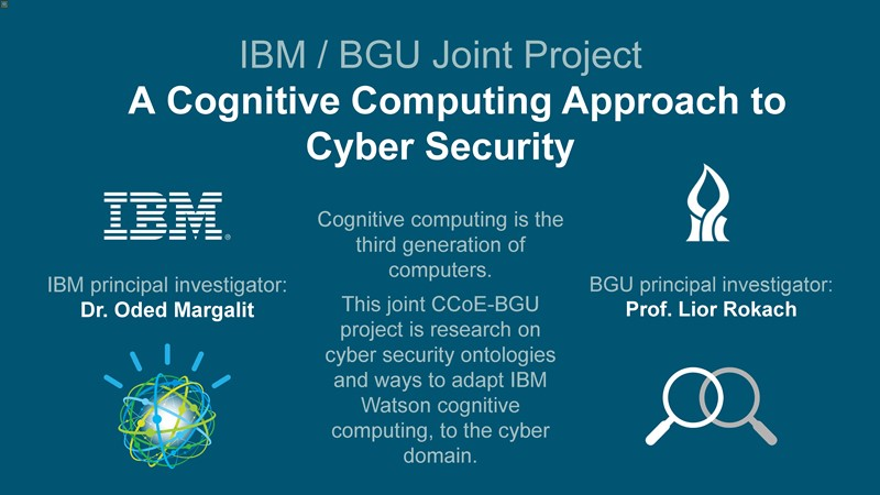 IBM Cyber Security Center of Excellence (CCoE)